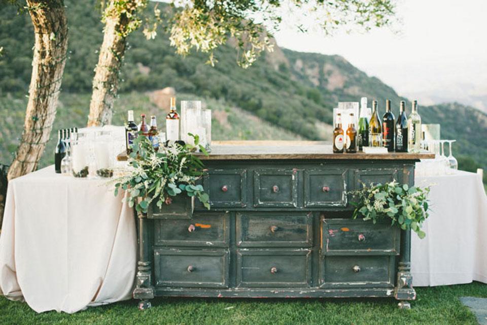 Cómo decorar una boda vintage