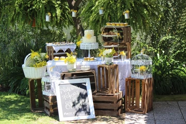 Como decorar una boda vintage con cajas