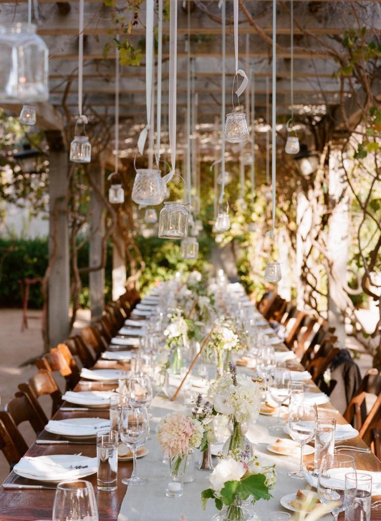Como decorar una boda vintage con faroles vintage