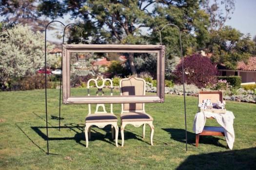 Como decorar una boda vintage con photobooth vintage