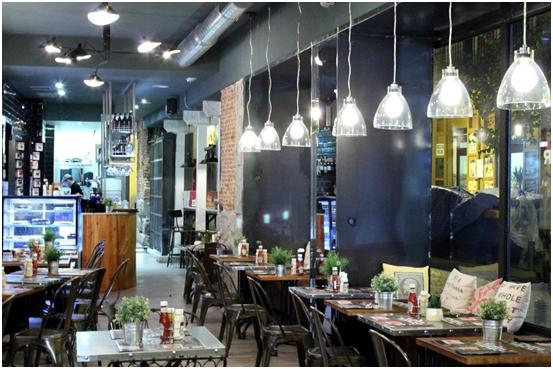 lámparas vintage para iluminar mesas