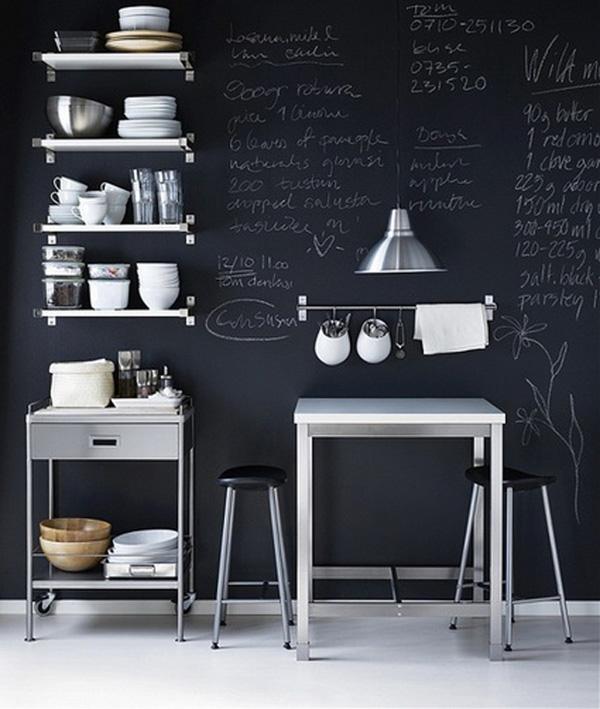 decora tus paredes con pizarra
