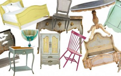 ¿Cómo recuperar mobiliario vintage?