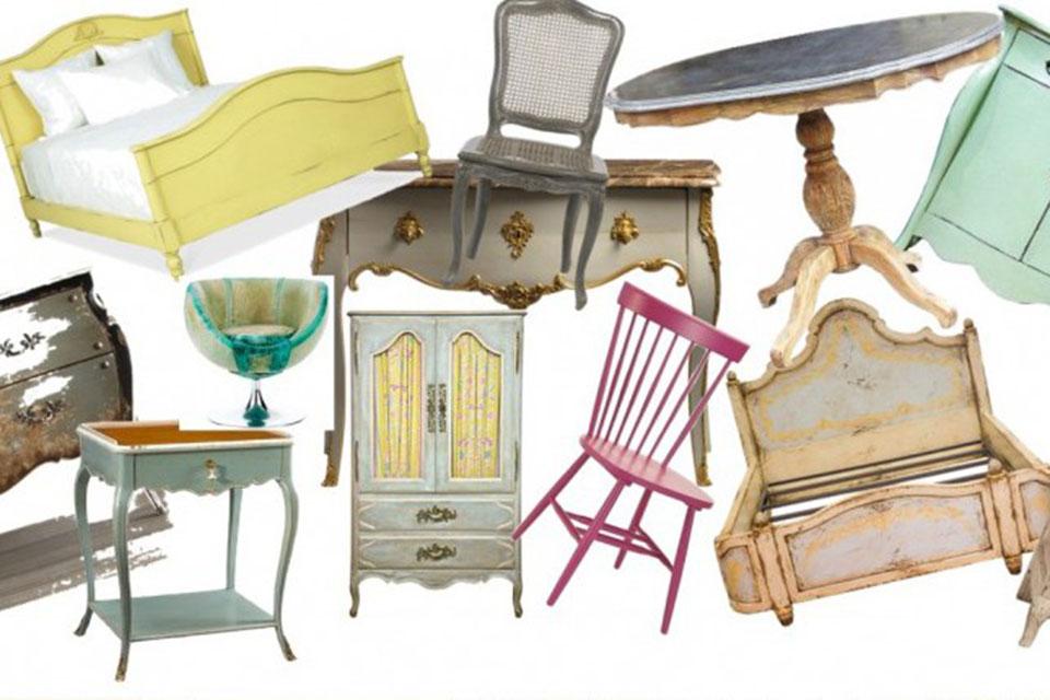 mobiliario vintage recuperar muebles