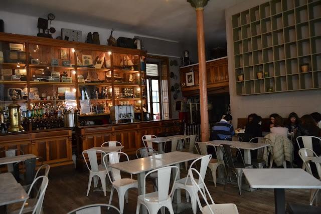 restaurantes con muebles vintage - Galería de París, Oporto