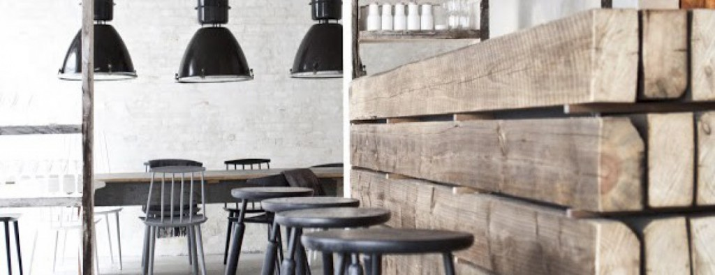 restaurantes con muebles vintage - Host, Copenhague