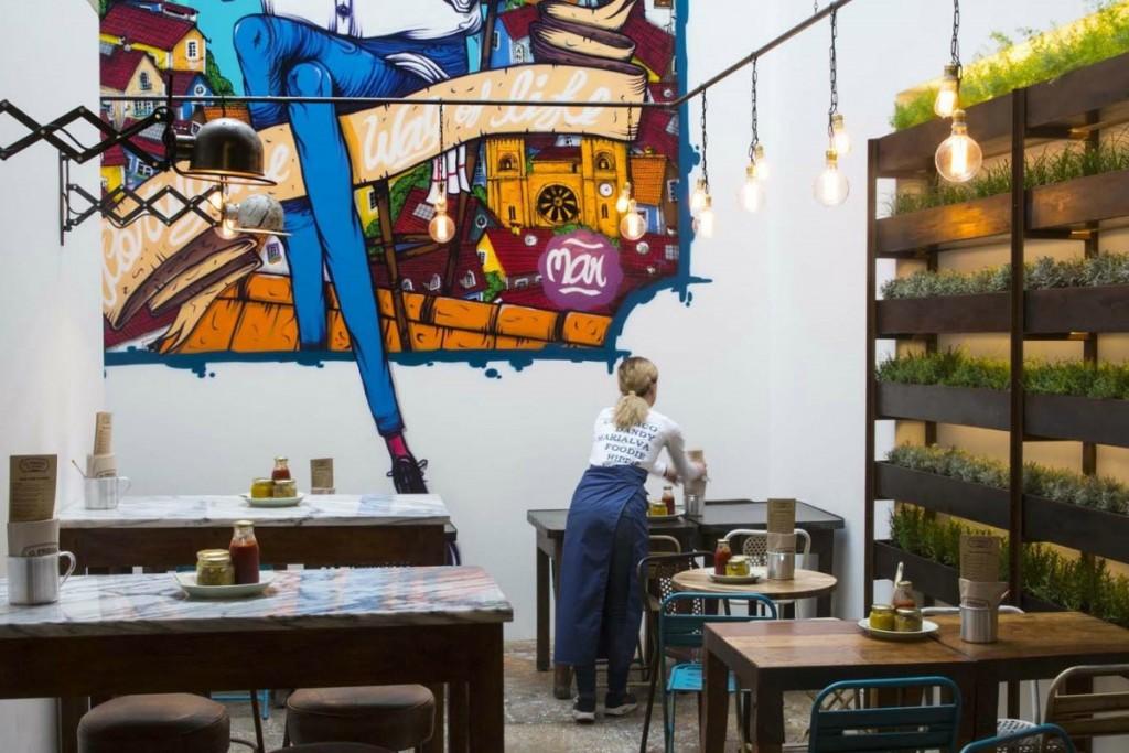 restaurantes con muebles vintage - Prego, Lisboa
