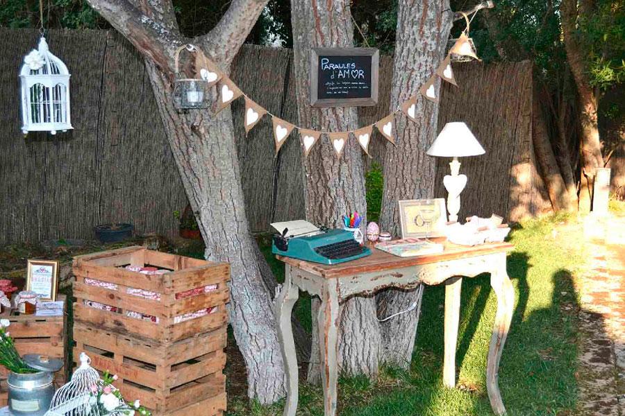 Fiesta vintage en el jardín, ¿te apuntas?