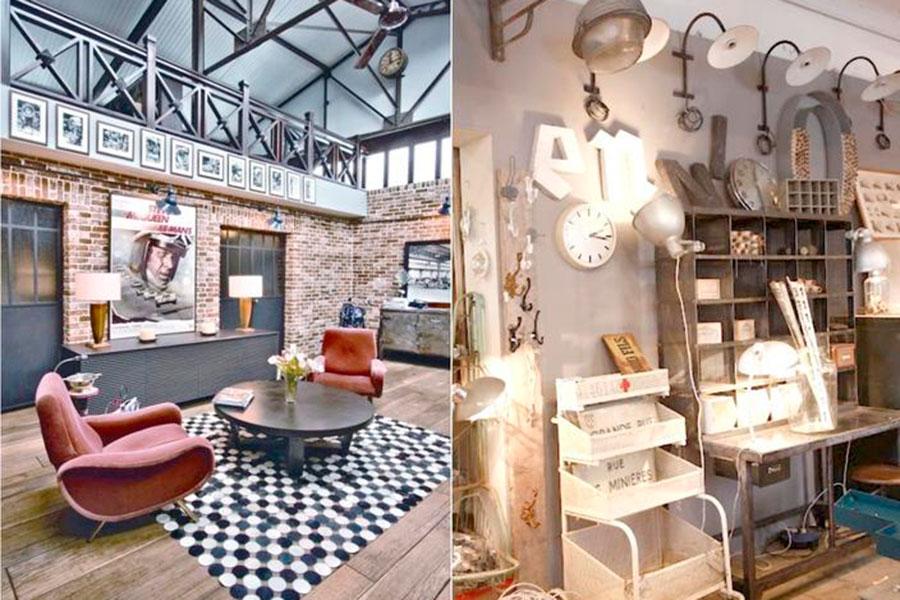 Claves para conseguir el estilo industrial que buscas. Si hablamos de estilo industrial lo primero que se nos viene a la cabeza son los grandes lofts...
