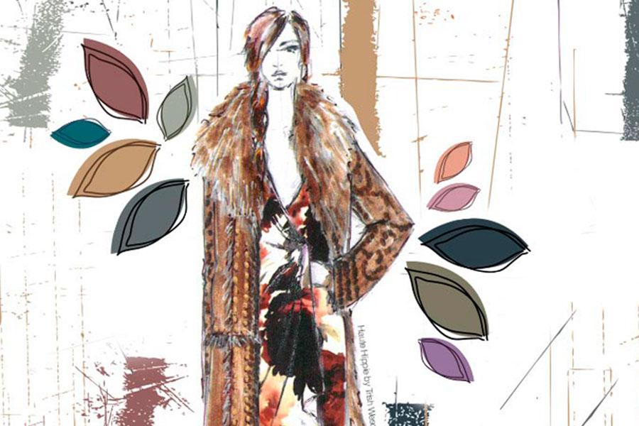 Los colores de moda para este otoño. Ya hace algunos meses, durante la New York Fashion Week, como viene siendo habitual, el Instituto Pan