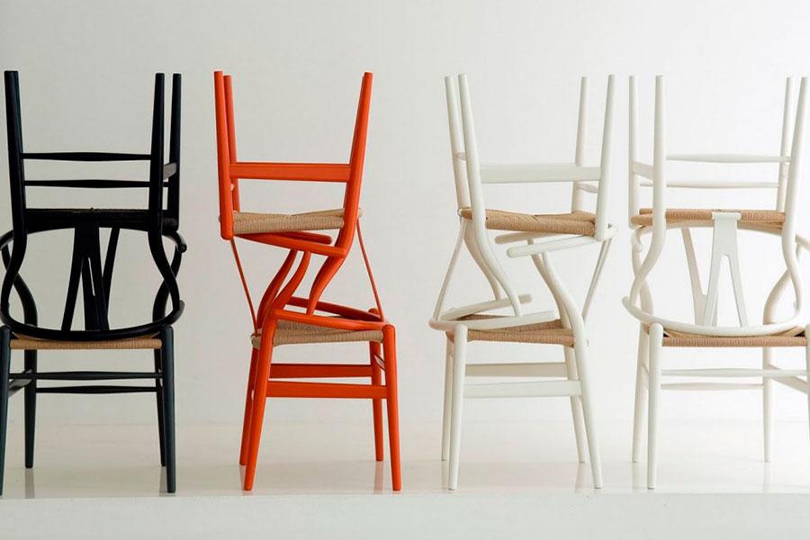 Silla Wishbone, un icono del diseño escandinavo. La silla CH24, más conocida como Wishbone es todo un icono dentro del diseño escandinavo.