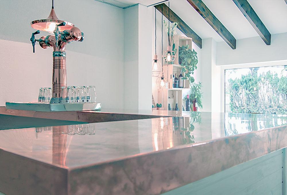 La Setla nuevo restaurante en la costa de Denia. Otro proyecto más de MisterWils, más de 4000m² de exposición y venta.