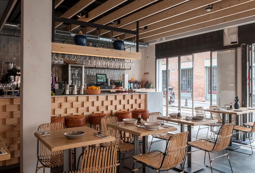 CHIFA nuevo restaurante en Sevilla con mobiliario de MisterWils
