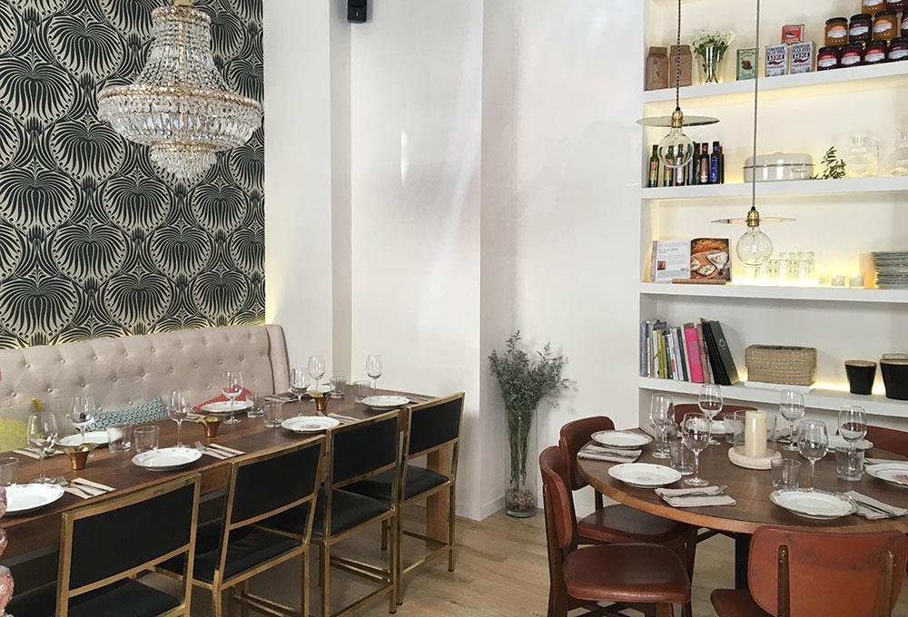 Santa Rita nuevo restaurante con mobiliario de Decoracion Vintage