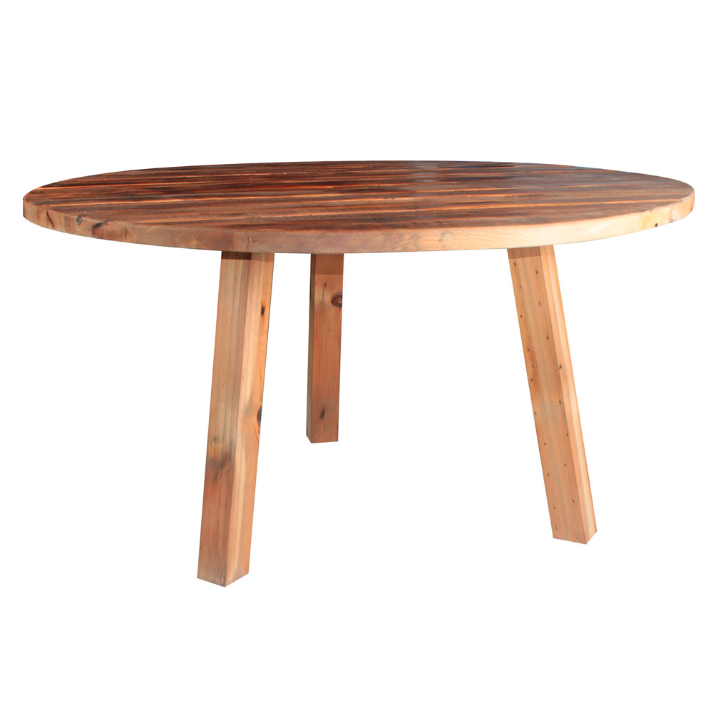 MisterWils, mesa estilo vintage realizada íntegramente en madera