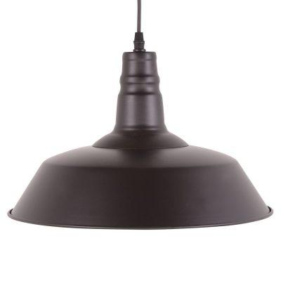 PEKÍN BIG NEGRA Lámpara de techo estilo industrial, fabricada en metal.
