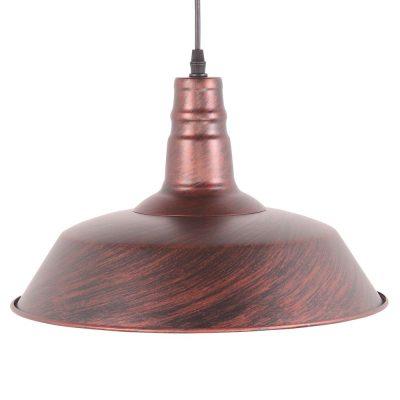 PEKÍN BIG ÓXIDO Lámpara de techo estilo industrial, fabricada en metal.
