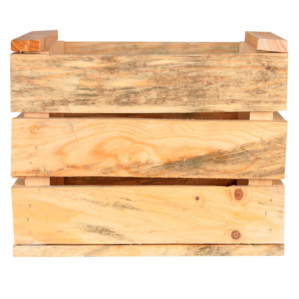 caja de madera BONGO NATURAL