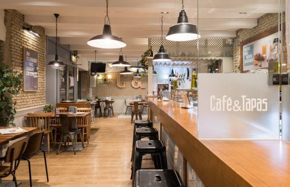 Restyling del local mas emblematico de Café and Tapas en Sevilla. Otro proyecto más de Mister Wils, más de 4000m2 de exposición y venta.