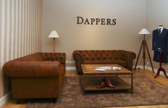 El Apartamento Dappers sastrería personalizada en el centro de Sevilla. Otro proyecto más de Mister Wils, más de 4000m² de exposición y venta