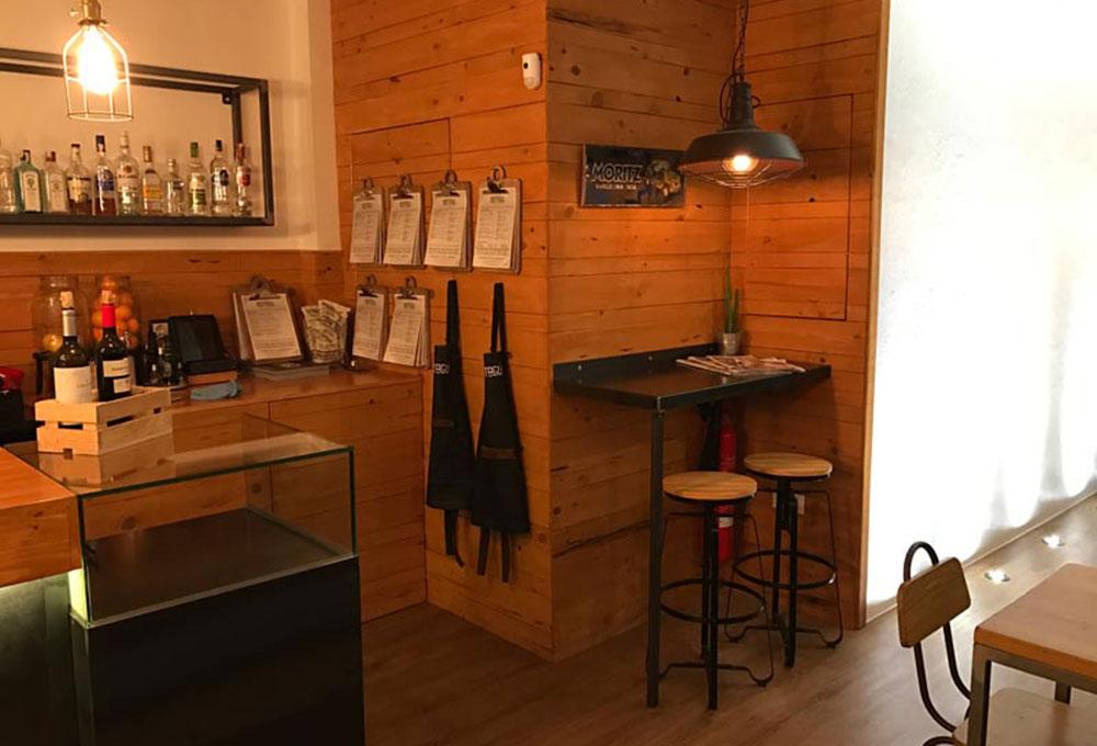 Restyling del restaurante Montagú, a cargo de Zinkers. Otro proyecto más de MisterWils, más de 4000m2 de exposición y venta