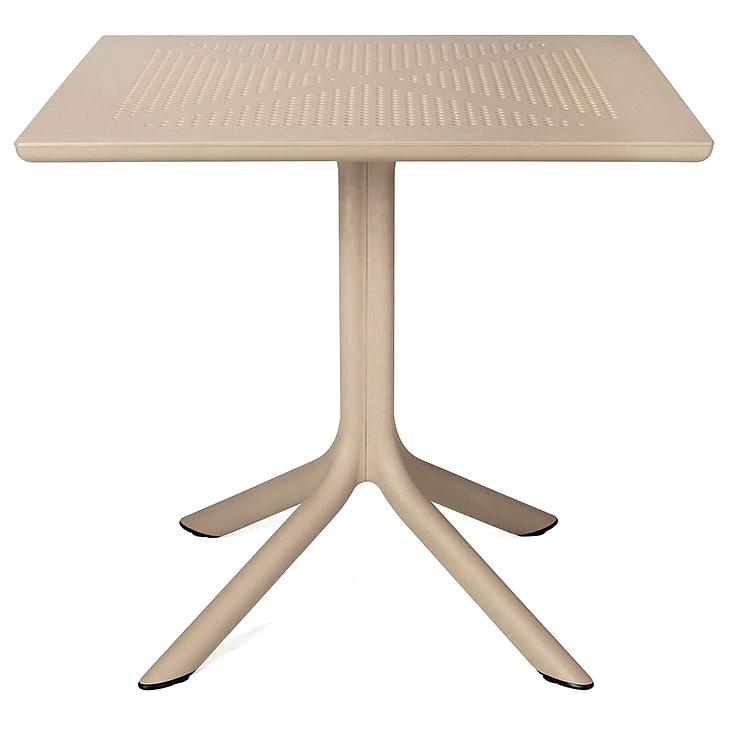Clip mesas misterwils industrial n rdico hosteler a for Mesa y sillas en resina trenzada barata