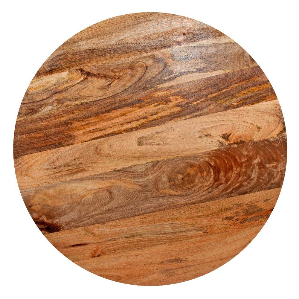MisterWils, mesa de madera con tapa realizada con tablones de madera vieja