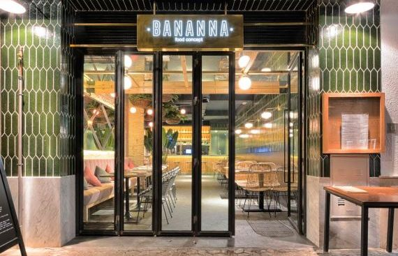 Bananna Food Concept, nuevo proyecto en la Alameda de Hércules de Sevilla. un nuevo proyecto de Mister Wils, más de 4.000m2 de exposición y venta.