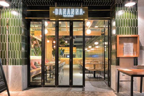Bananna Food Concept, nuevo proyecto en la Alameda de Hércules de Sevilla. un nuevo proyecto de MisterWils, más de 4.000m2 de exposición y venta.