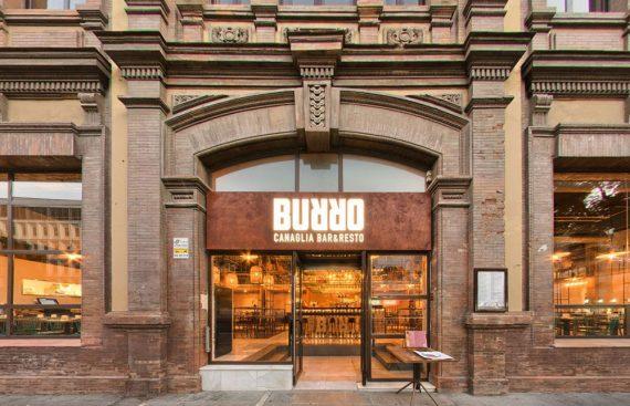 Burro Canaglia una apuesta culinaria italiana con Decoracion Industrial. Otro proyecto más de Mister Wils, más de 4000m² de exposición y venta.