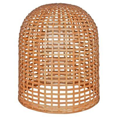 Lámpara colgante estilo nórdico con estructura de bambú