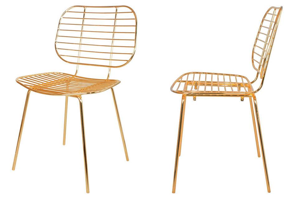 Apuesta al dorado con la silla Ralph de MisterWils. Conoce de primera mano nuestra amplia gama de productos y la calidad de los mismos.