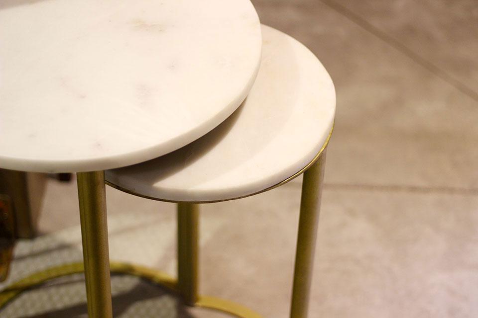 Así son las mesas de mármol de Mister Wils