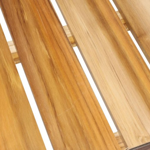 SHINE Mesa estilo industrial de tubo de acero y madera de teka. Encuéntrala en Mister Wils. Más de 4000m² de exposición y almacén. Aparadores, Cartelería artística, Complementos, Estantes, Iluminación, Mesas, Outlet, Plantas Artificiales, Sillas, Sofás y bancos, Taburetes, Ventilación.