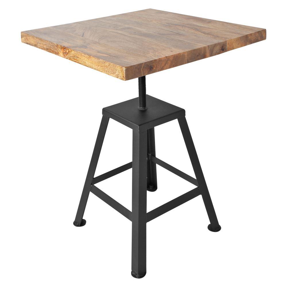 Diez mesas de comedor para todos los estilos. Mesa Madison Black.