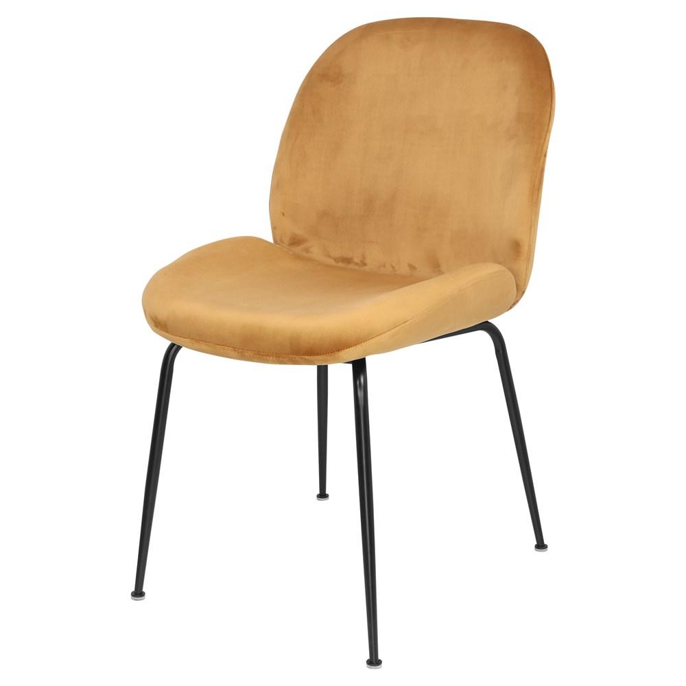 MisterWils, silla terciopelo Brando curry