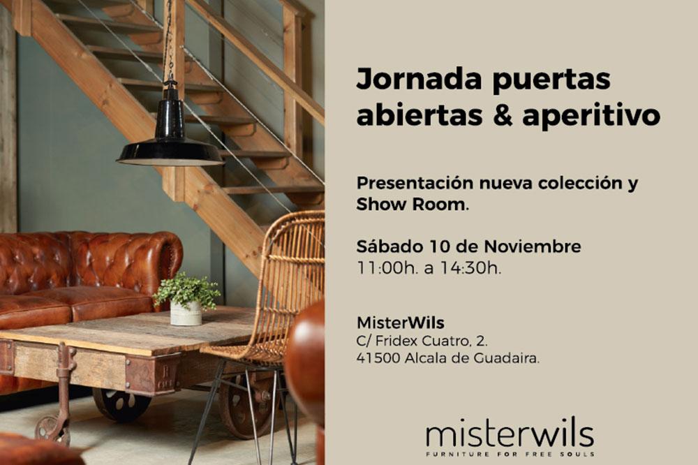 MisterWils celebra una jornada de puertas abiertas con venta especial. El sábado 10 de noviembre, MisterWils abre de forma excepcional nuestro showroom...