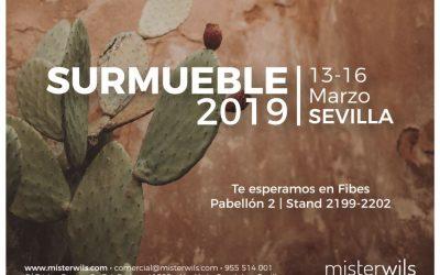 MisterWils estará presente este marzo en SURMUEBLE 2019