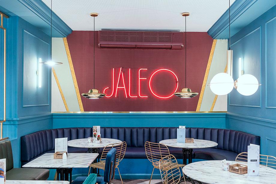 Entrevista a Guille García de la Hoz en MisterWils. Restaurante jaleo, Madrid.