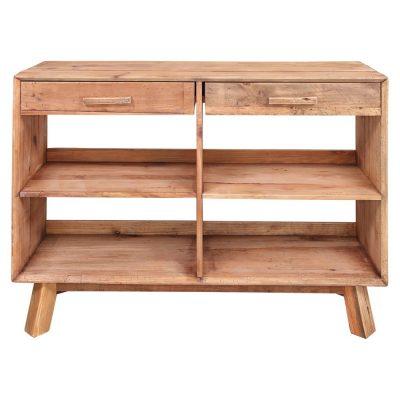 ZAMBEZE Aparador estilo Rústico de madera de pino reciclada 2 cajones y 4 compartimentos. Encuéntralo en MisterWils. Más de 4000m²...