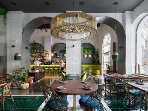 LPA, el nuevo restaurante de moda en Ayamonte, un proyecto de CM4