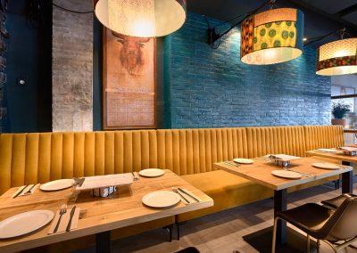 Don Otilio es la nueva oferta gastronómica en Los Remedios. Ubicado junto a la parroquia que homenajea a su fundador, el padre Don Otilio