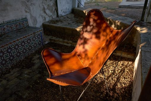 BUTTERFLY CARAMEL DESMONTABLE Sillones