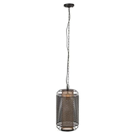 ACHERON MINI Lámpara de techo de acero tipo jaula estilo industrial. Encuéntrala en MisterWils. Más de 4000m² de exposición y almacén.