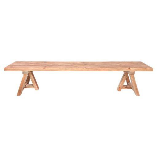 TÁMESIS BANCO estilo Rústico Vintage fabricado en madera reciclada. Encuéntralo en MisterWils. Más de 4000m² de exposición y almacén.