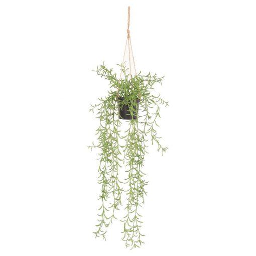 BLOSSOM Planta artificial decorativa para colgar con maceta incluida. Encuéntrala en MisterWils. Más de 4000m² de exposición y amacén