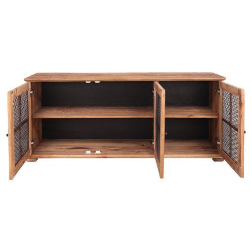 CASTEL Aparador tipo buffet estilo Rústico de madera reciclada. Encuéntralo en MisterWils. Más de 4000m² de exposición y almacén.