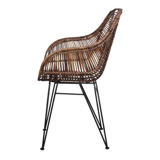 silla de rattán natural VIGGO 3