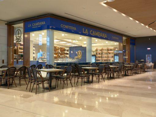 Confitería La Campana en el centro Comercial Lagoh