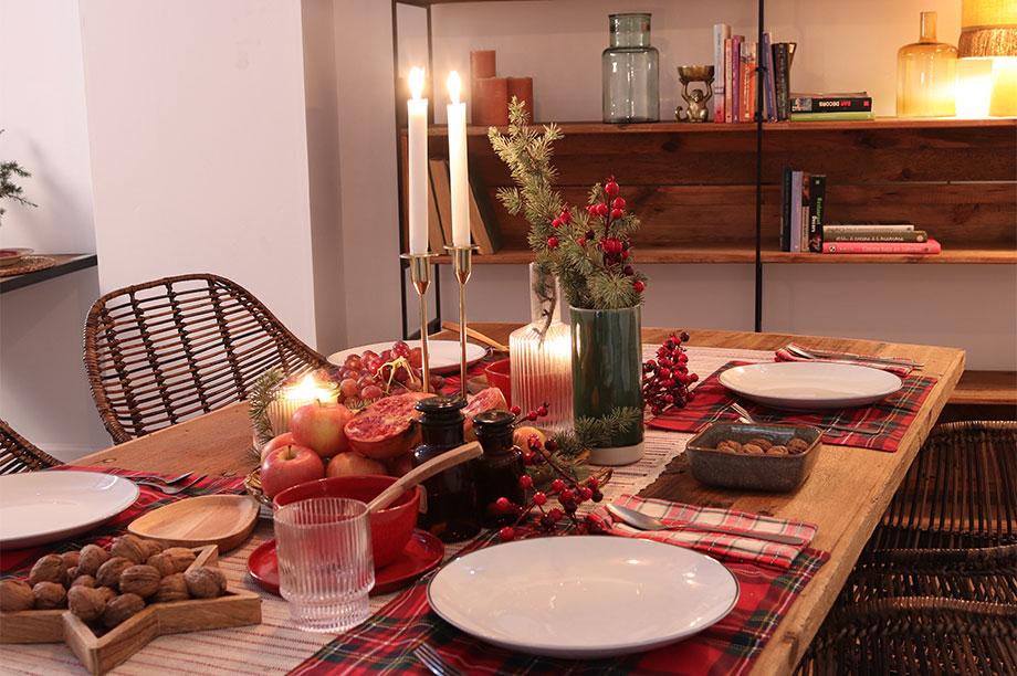 Mesas de Navidad con otro ritmo